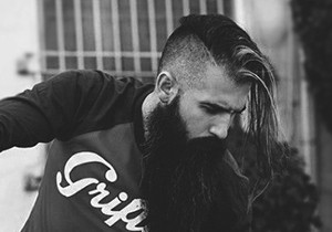 Undercut With Beard Haircuts For Men